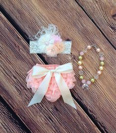 Hey, I found this really awesome Etsy listing at https://www.etsy.com/listing/206495900/peach-ivory-blush-pink-lace-bloomer-set