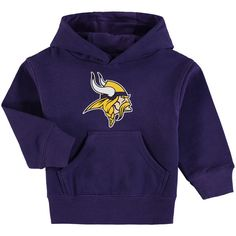 6caa22f15 Minnesota Vikings Toddler Team Logo Pullover Hoodie - Purple -  39.99