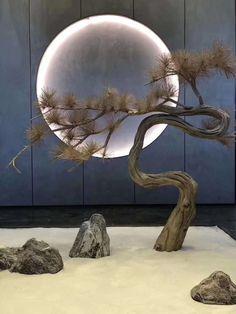 Home Decor Style Chinese Interior, Japanese Interior, Asian Interior Design, Japanese Garden Design, Japanese Art, Zen Interiors, Interior Garden, Deco Table, Ikebana