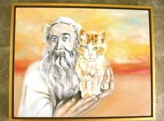 Moses diverts Hebrew uprising with a cute lil kitty.