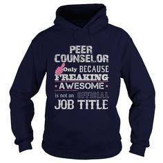 AWESOME PEER COUNSELOR SHIRT T-SHIRTS, HOODIES, SWEATSHIRT (34$ ==► Shopping Now)