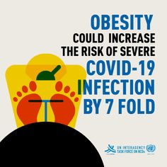 Obesity could make you 7⃣ times more likely to get severe #COVID19. Make sure you eat a healthy diet 🥕 & get enough physical activity 🚵♂️ to keep healthy & #beatNCDs Health Advice, Health And Wellness, Truck Or Treat, International Health, Special Kids, Keeping Healthy, Good Housekeeping, Art Plastique, Public Health