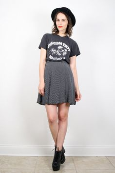 Vintage Skater Skirt Grunge Skirt 1990s 90s by ShopTwitchVintage