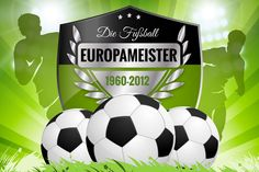 Fussball Europameister von 1960 bis 2012