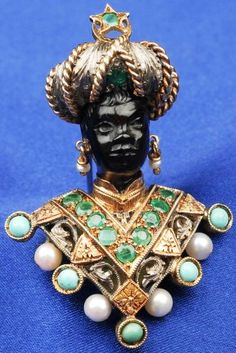 blackamoor jewelry - Cerca con Google