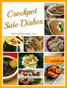 A big list of Crockpot Side Dishes! Perfect when you are grilling!