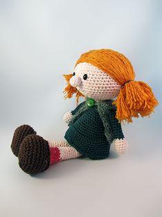 Penelope amigurumi crochet pattern by Pii_Chii