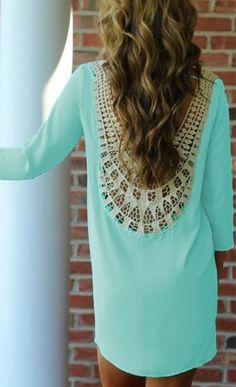 EM; Sweet My Love Hollow back Lace Dress; $11.50