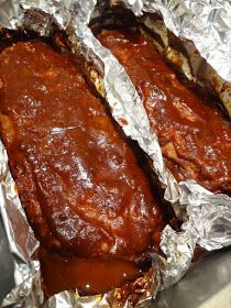 Scrumpdillyicious: Ina Garten's Foolproof Ribs with Barbecue Sauce - Ina Garten - Meatloaf Oven Baked Ribs, Ribs In Oven, Ribs On Grill, Pork Rib Recipes, Grilling Recipes, Meat Recipes, Cooking Recipes, Cooking Ribs, Barbecue Recipes