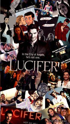 Lucifer Tv Show Wallpaper Netflix Series, Series Movies, Tv Series, The Witcher 2, Watch Lucifer, Tom Ellis Lucifer, Lauren German, Youtuber, Morning Star
