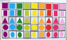 Barvy a tvary pro batolata // Colors and shapes for toddlers #barvy #tvary #batole #toddler #toddlerteaching #colors #shapes #diy