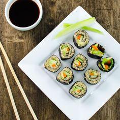 Veggie Quinoa Sushi Rolls