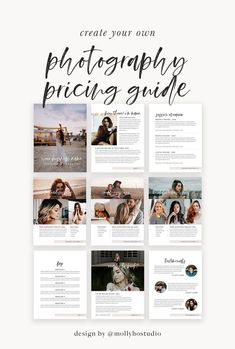photography pricing guide, photography for beginners, wedding photography templates, marketing for photographers, fully customizable photography Photography Price List, Wedding Photography Pricing, Wedding Photography Packages, Free Photography, Photography For Beginners, Photography Business, Photography Welcome Packet, Photography Studios, Nikon D5200