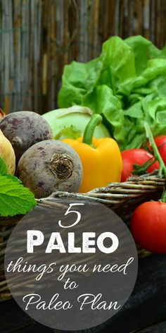 5 Paleo Things You Need to Paleo Plan for fitness videos check out https://www.youtube.com/user/MixonFit/videos