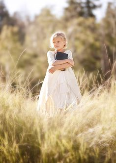 My cousin's little girl, my cousin is the photographer.  She is so talented!  :)