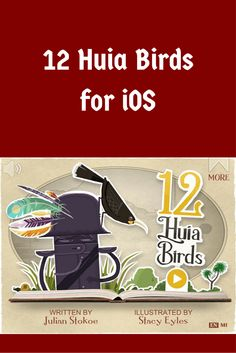 12 Huia Birds from Yoozoo Books is an educational, interactive book that brings the true story of New Zealand's beautiful lost Huia bird back to life. True Stories, Ios, Bring It On, Writing, Education, Movie Posters, Beautiful, Film Poster, Onderwijs