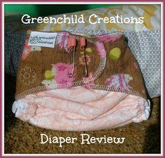 Mixed Bag Mama: Greenchild Creations Diaper Review