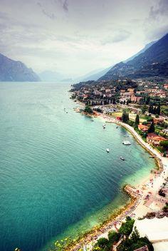 Lounge on Lake Garda, Italy.