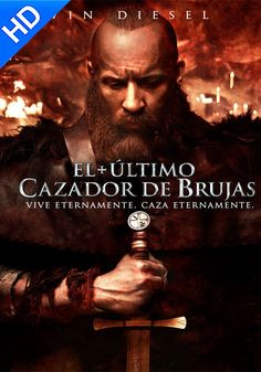 The Last Witch Hunter Vin Diesel Streaming Hd, Streaming Movies, Hd Movies, Movies Online, Movies And Tv Shows, Films, Vin Diesel, Elijah Wood, The Last Witch Hunter