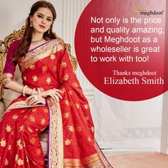 #customertestimonials #sarees #fashion #style Elizabeth Smith, Customer Feedback, Sarees, Style, Fashion, Swag, Moda, Fashion Styles, Fashion Illustrations