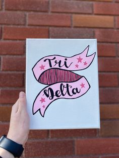 Sorority Names, College Sorority, Sorority Big Little, Sorority Paddles, Sorority Sisters, Sorority Crafts, Sorority Recruitment, Big Little Basket, Canvases