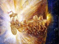 gods chariots.