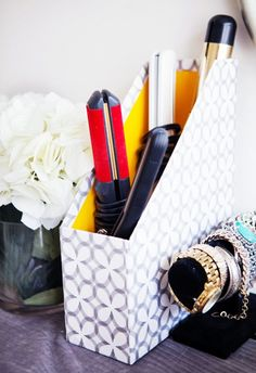 7 Unconventional Ways to Organize Your Beauty Products via @byrdiebeauty