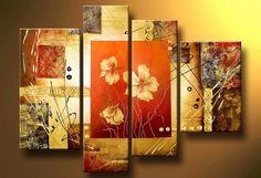 ver cuadros modernos con textura