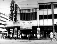 Odeon Theater. 1968 Vintage Photography, Street Photography, Retro Pi, Filipiniana, Manila Philippines, Back In Time, Iphone Photography, Pinoy, Cool Photos