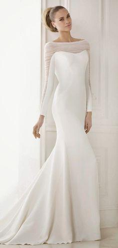 wedding dress winter - Google Search