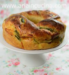 Blog di cucina di Aria: Corona salata di farro con asparagi, prosciutto co...