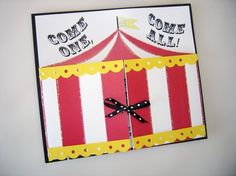 Customizable Carnival or Circus Invitations by PartyBijou on Etsy, $2.50