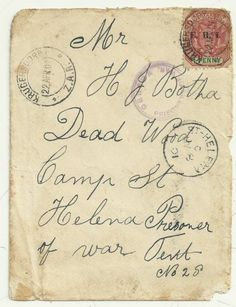 Used Victoria British Covers Stamps
