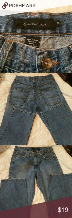 Mens Calvin Klein Jeans Mens Calvin Klein Size 32 (34 length I do believe) Excellent shape, unsure if worn any Calvin Klein Jeans Jeans