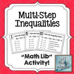 The Percent Proportion: Math Lib Activity Math Teacher, Math Classroom, Teaching Math, Teaching Resources, Teacher Stuff, Maths, Teaching Ideas, Teaching Supplies, Math Math
