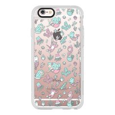 Mermaids and cats. Under the sea. - iPhone 6s Case,iPhone 6... (585 ARS) ❤ liked on Polyvore featuring accessories, tech accessories, iphone case, iphone hard case, iphone cases, clear iphone cases, apple iphone cases and cat iphone case