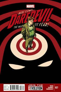 Daredevil Vol. 3 #27 | Community Post: 30 Animated Comic Book Covers That Are Downright Hypnotizing