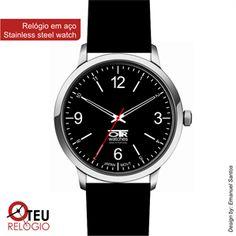 Mostrar detalhes para Relógio de pulso OTR CLASS 0002 PRETO