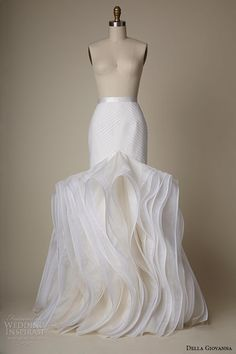0ca1b1ce3 Della Giovanna 2015 Bridal Collection. Wedding Dress Organza2015 Wedding  DressesWedding ...