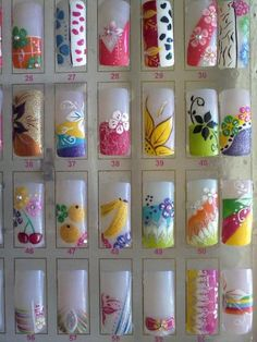 Imágenes de curso de uñas y diseño. tijuana en Tijuana … Great Nails, Cool Nail Art, Cute Nails, Nail Salon Design, Nail Salon Decor, Christmas Nail Designs, Christmas Nails, Bling Nails, My Nails