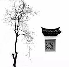 Zen, effortless elegance and preciseness embedded in traditional Chinese architecture.
