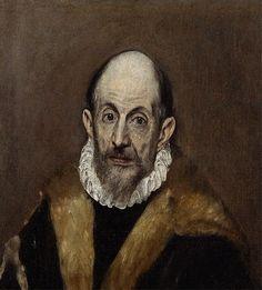 El Greco (Domenikos Theotokopoulos) (Greek, 1540/41–1614). Portrait of an Old…