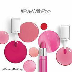 Clinique Pop Lacquer Lip Colour + Primer 2016 - Beauty Trends and Latest Makeup Collections Clinique Pop, Makeup Ads, Lip Makeup, Cosmetic Design, Cosmetic Shop, Latest Makeup, Beauty Shots, Lip Colour, Makeup Designs