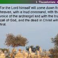 Scripture from my dad & Mary funeral
