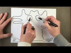 Synchronized Drawing Game - YouTube