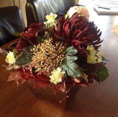 Een klassiek bloemstuk
