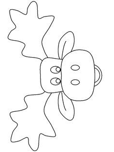 moose track coloring pages - photo#19