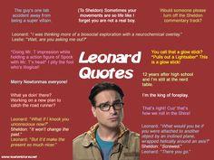 Leonard quotes