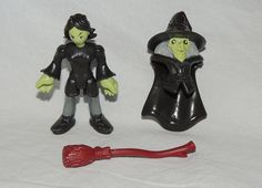 Fisher Price IMAGINEXT Collectible, Blind Bag Mad Witch Broom Wicked Series 4 #FisherPrice