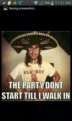 I'm going to my school disco as Vic. Not even kidding.